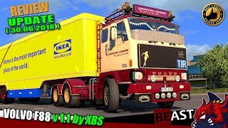 "[""ETS2"", ""Euro Truck Simulator 2"", ""truck mod"", ""VOLVO F88 v1.1"", ""by XBS""]"