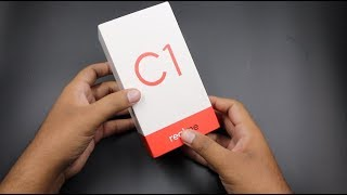 Realme C1 Unboxing Blue, Camera, Features, Quick Review   Hindi