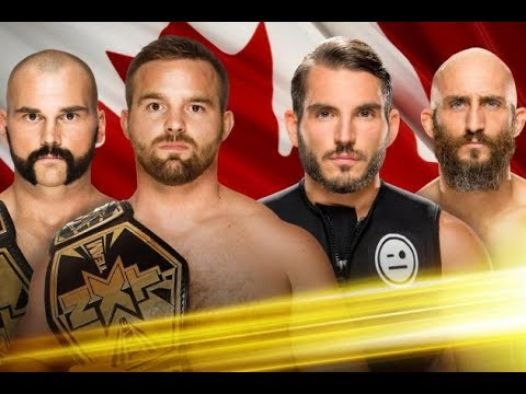 WWE NXT Takeover: Toronto 2016 DIY vs The Revival Full Match