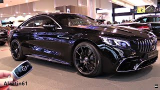 Mercedes S Class Coupe 2018 | NEW REVIEW AMG S63 4Matic + Interior Exterior