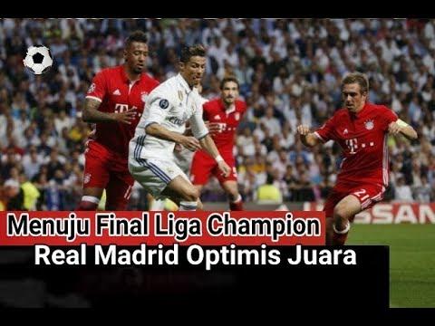Real Madrid Lolos ke Final Dan di Prediksi Bakal Lawan .....