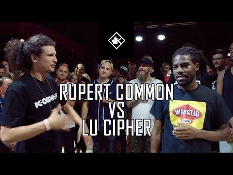 KOTD - Rap Battle - Rupert Common vs Lu Cipher | #GZ