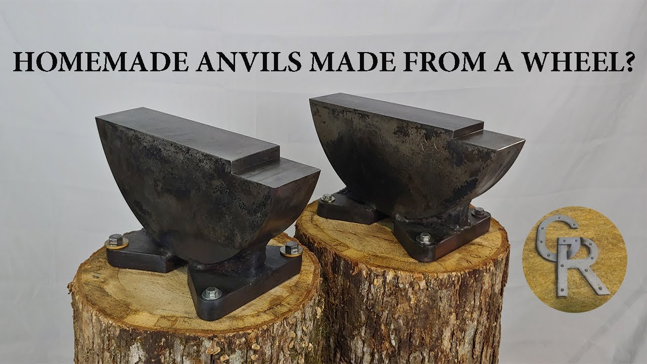 Homemade Anvil Made From a Wheel? - YouTube