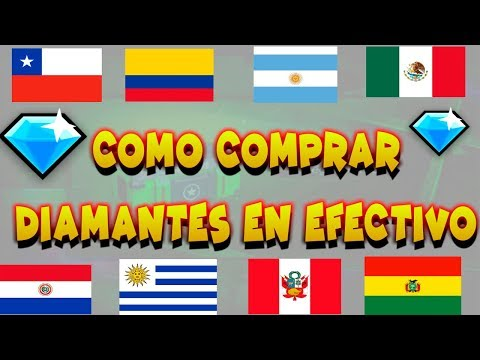 COMO COMPRAR DIAMANTES EN FREE FIRE CON  EFECTIVO-COLOMBIA