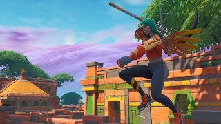 BUYING THE NEW SKIN *SOLAR AVE* AND WINNING THE FIRST PARTY IN FORTNITE! -RoEssYT