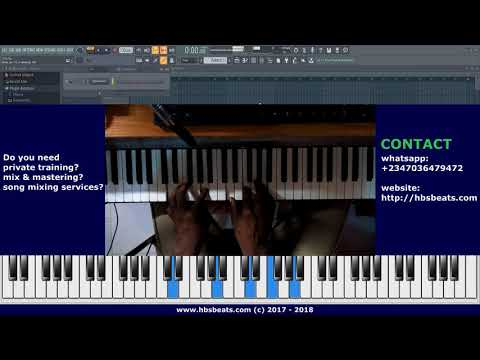 Afrobeat Chords | Intermediate Piano Tutorial | Stop Guessing your chords