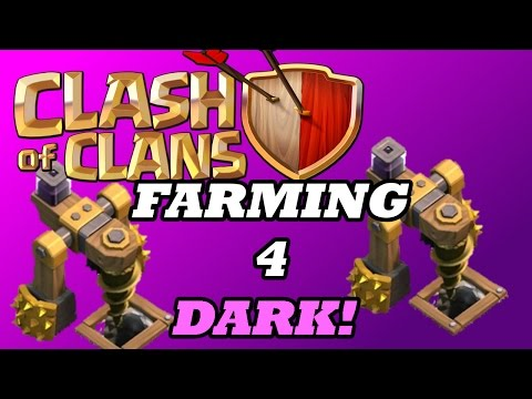 FARMING DARK ELIXIR! | UPGRADING THE ARCHER QUEEN | Clash Of Clans