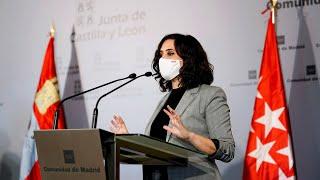 Ayuso desafía a Sánchez y ordena cerrar Madrid solo los dos próximos puentes