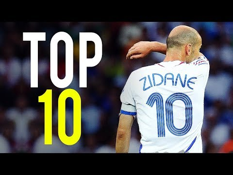 Zinedine Zidane - Top 10 Goals Ever