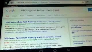 Comment mettre adobe flash player sur sa tablette