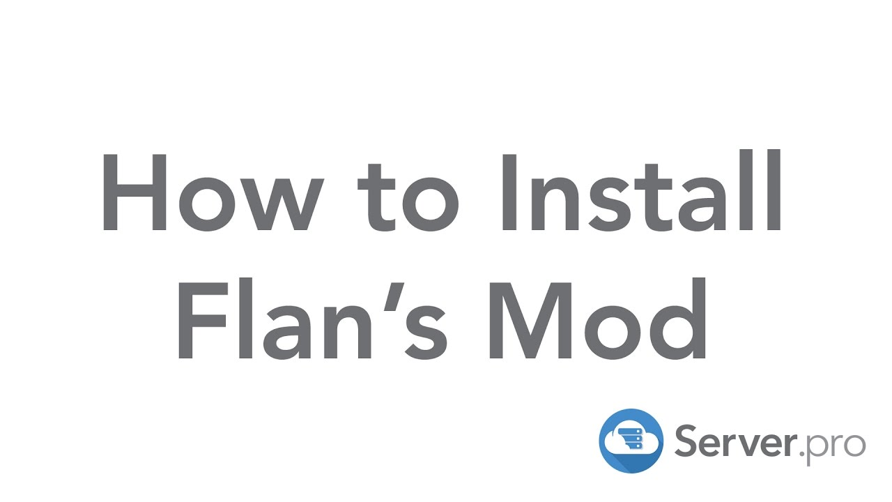 How To Install Flans Mod For Your Minecraft Server Serverpro - Minecraft flans mod server 1 8 erstellen