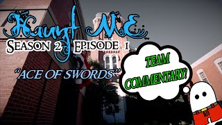 """Haunt ME - S2:E1 """"Ace of Swords"""" (The Library) - Commentary"""