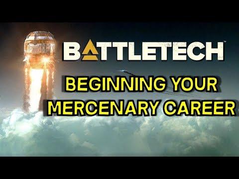 Beginning your career as Mercenary -- Early Game Battletech 2018