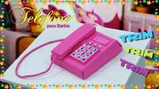 ☎ Telefone para Barbie. Alô! Galera vem Fazer Também 😄💕