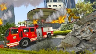 GTA 5: CHAOS IN LOS SANTOS!!