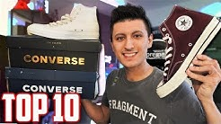Top 10 Sneakers you NEED in Your Collection! - Converse Shoes | SneakerTalk