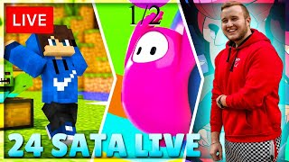 12 SATI LIVE STREAM / FALL GUYS , MINECRAFT , BRAWL STARS ....