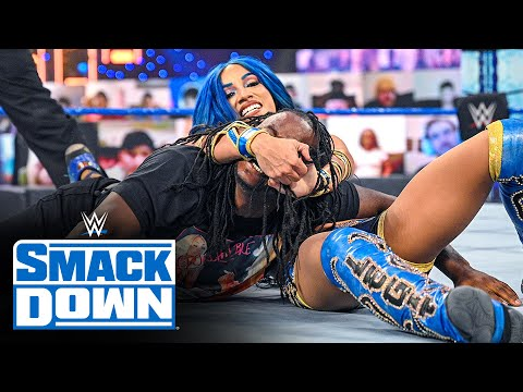 Sasha Banks vs. Reginald: SmackDown, Jan. 22, 2021
