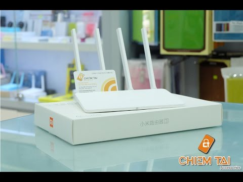 [Chiếm Tài Mobile ] – Đánh giá Router Wifi Xiaomi 4 anten Gen 3C & Gen 3