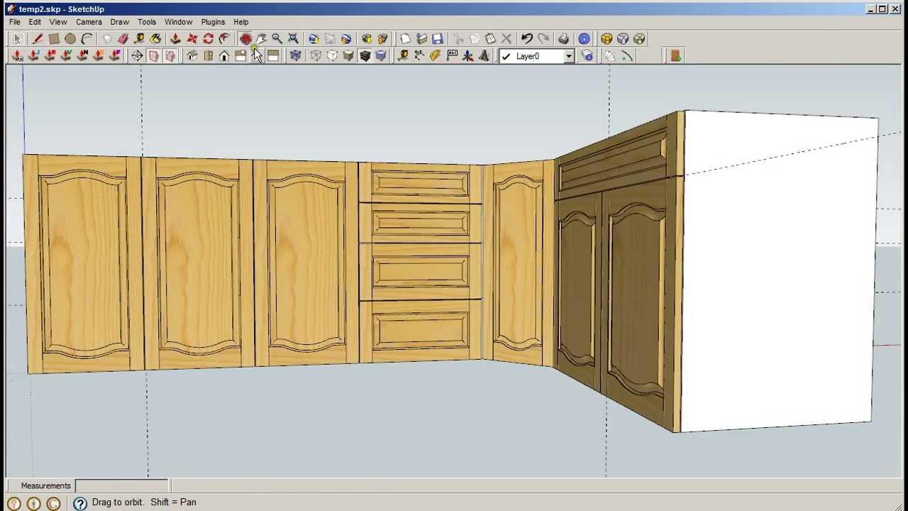 & Sketchup Door Maker - Simplified - YouTube
