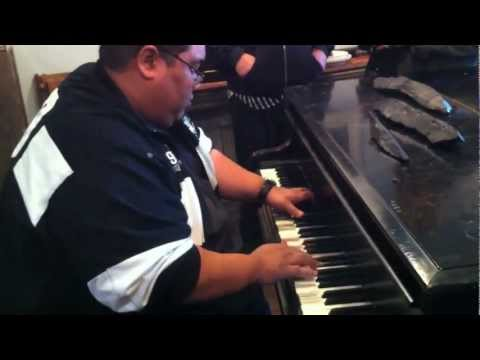 Incredible Blues Piano Improvisation - Live Music