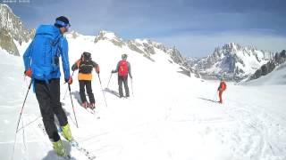 Europe alps backcountry skiing