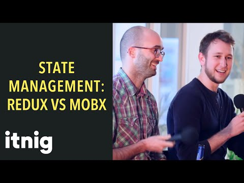 Comparing Redux and MobX with two CTO's and React experts - state management using reactjs