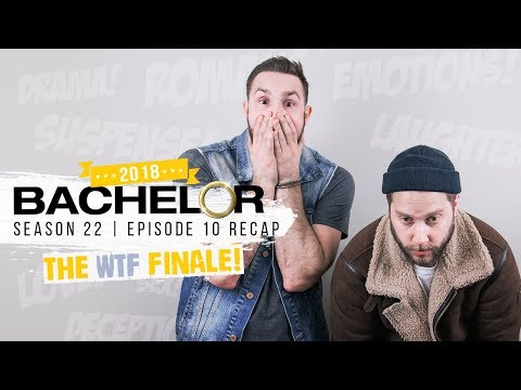 The Bachelor Season 22 | WTF FINALE RECAP