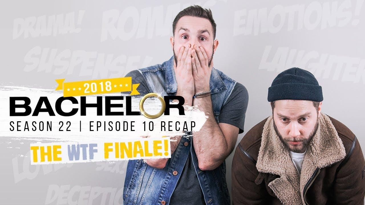 The Bachelor Season Finale Recap: I Don't Love That