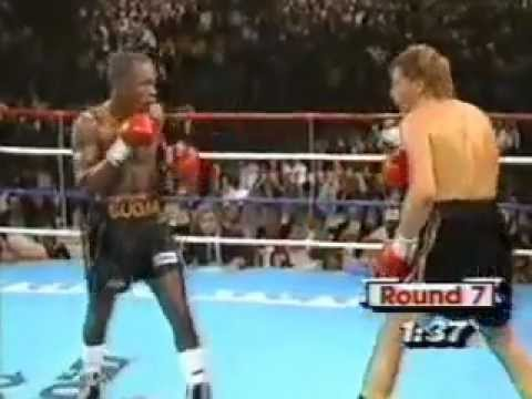 """Sugar"" Ray Leonard vs. Donny ""The Golden Boy"" Lalonde - (4 of 5) November 7, 1988"