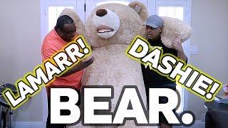 WORLD S LARGEST TEDDY BEAR! [Feat. Dashie]