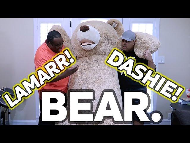 WORLD'S LARGEST TEDDY BEAR! [Feat. Dashie]