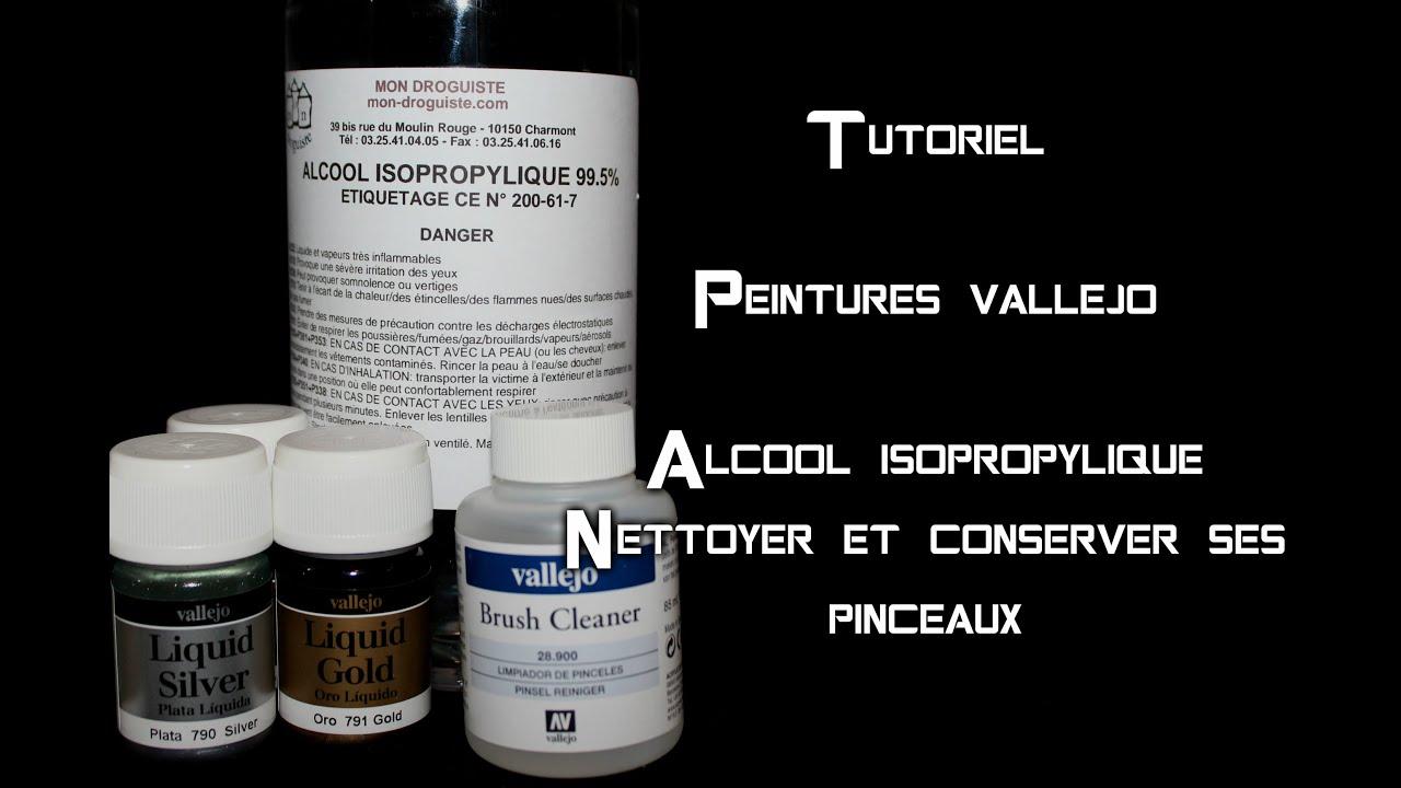 Tuto Peinture Vallejo Et Alcool Isopropylique Youtube