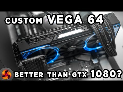 Sapphire RX Vega 64 Nitro+ Limited Edition Review - better than GTX1080?