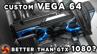 sapphire RX Vega 64 Nitro Limited Edition Review - better than GTX1080?
