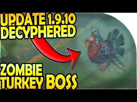 HALLOWEEN ZOMBIE TURKEY BOSS in UPDATE 1.9.10 - Last Day on Earth Survival Update 1.9.9