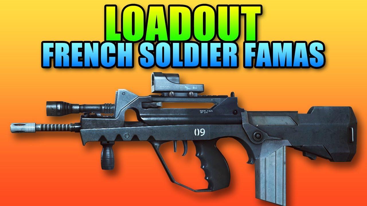 Battlefield 4 loadout french soldier famas g18 - Battlefield 1 french soldier ...