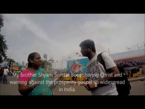 August 27, 2016 Preaching Christ in downtown Hyderabad