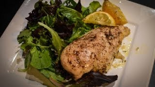 Baked Lemon Chicken With Mixed Greens | Cook With Amber