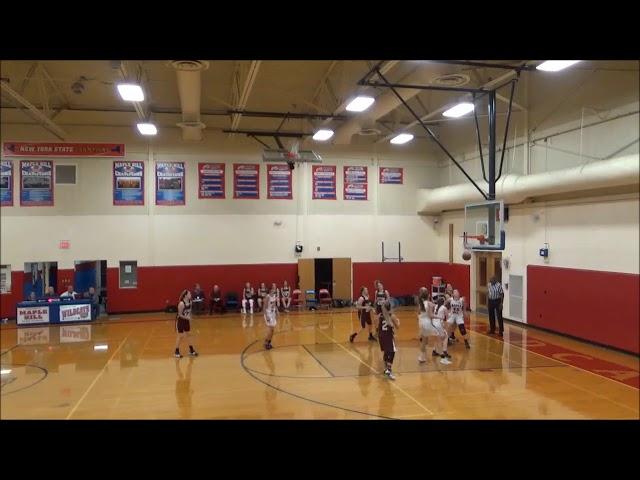 Game Highlights Girls' Varsity: Greenville 58 vs Maple Hill 37 (F)