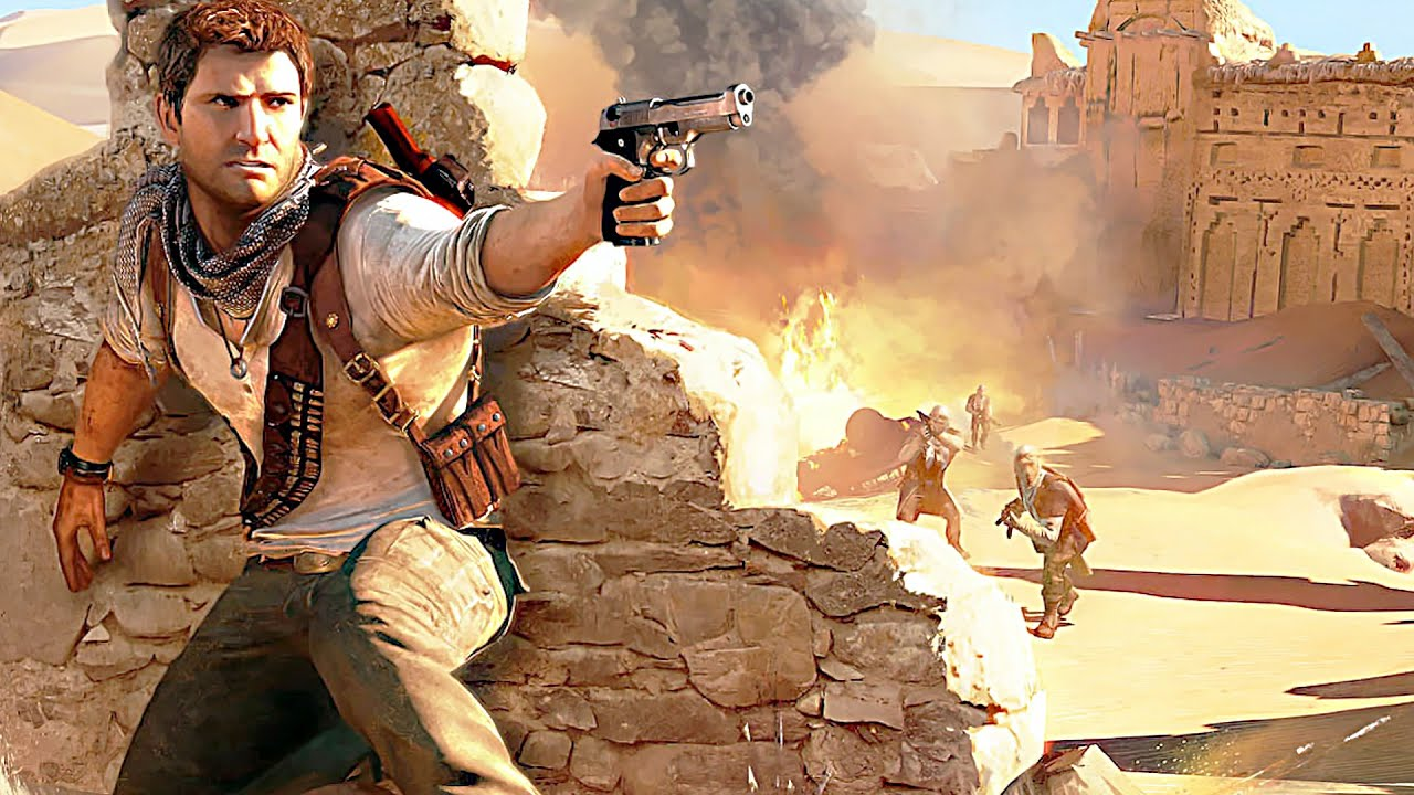 Uncharted 3 Drake s Deception - GameSpot