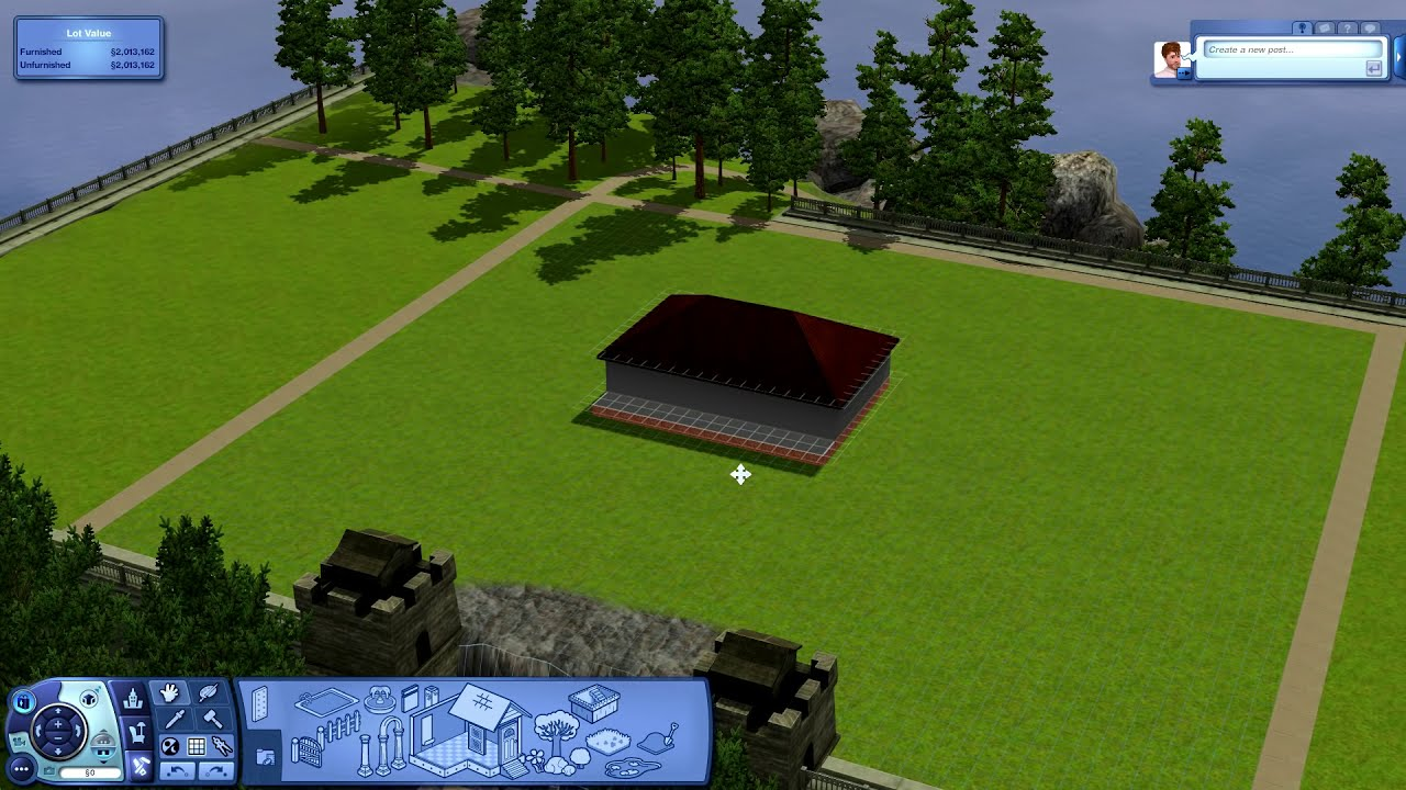 The Sims 3 Tutorial 1 Stairs From Foundation To Basement