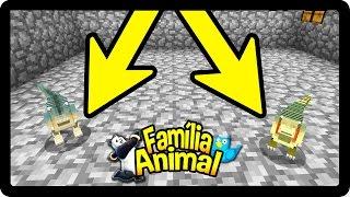 Minecraft: ADIVINHA O QUE ACONTECEU !!!  - FAMÍLIA ANIMAL #42