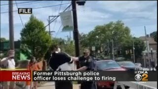 Former Pittsburgh Police Officer Loses Challenge To Firing