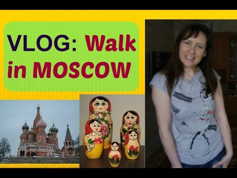 DIFFERENCES in Russia & UK VLOG / Moscow Walk / British Digital Nomad Travel