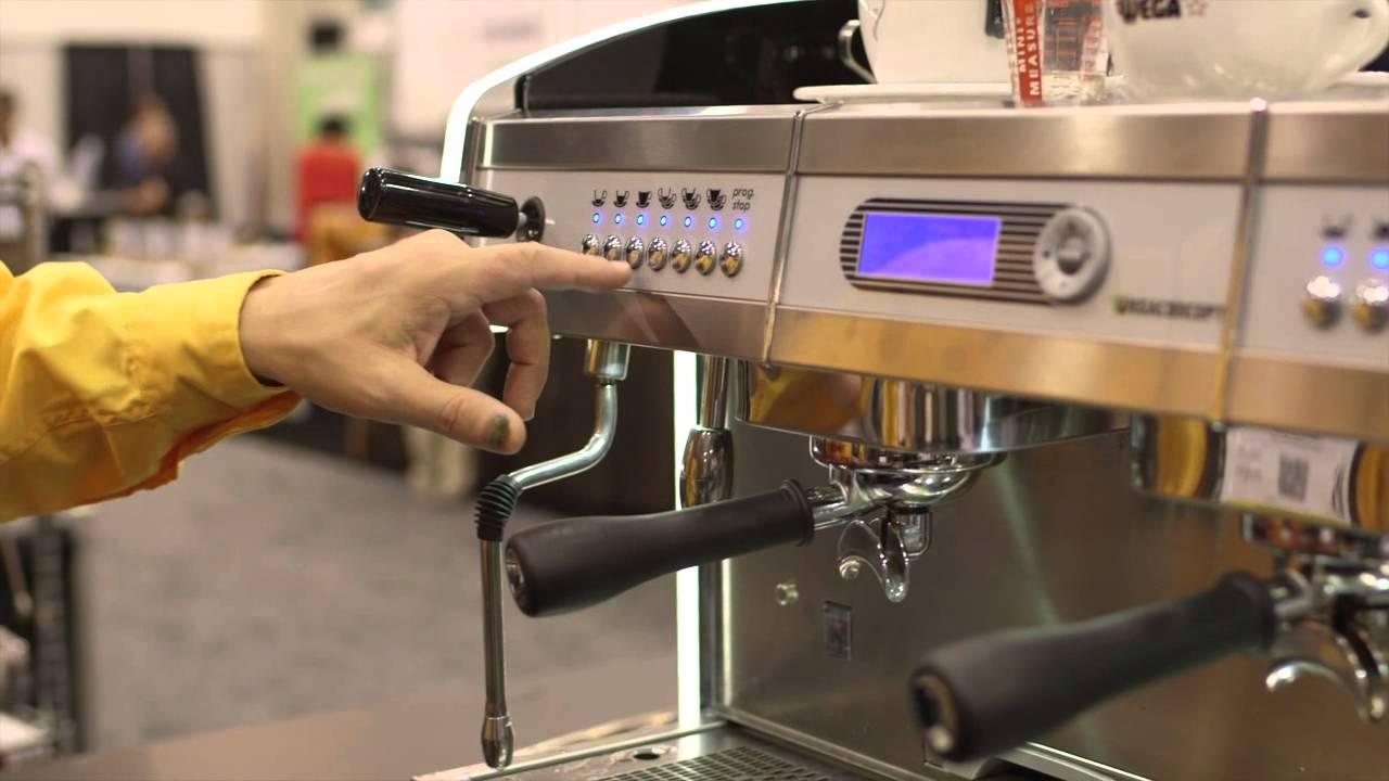 5d1dc03c80 Inside Look  Wega Concept Automatic Volumetric Espresso Machine - YouTube
