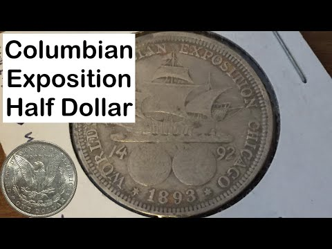 1893 World's Columbian Exposition Silver Half Dollar: Know Your Coins!