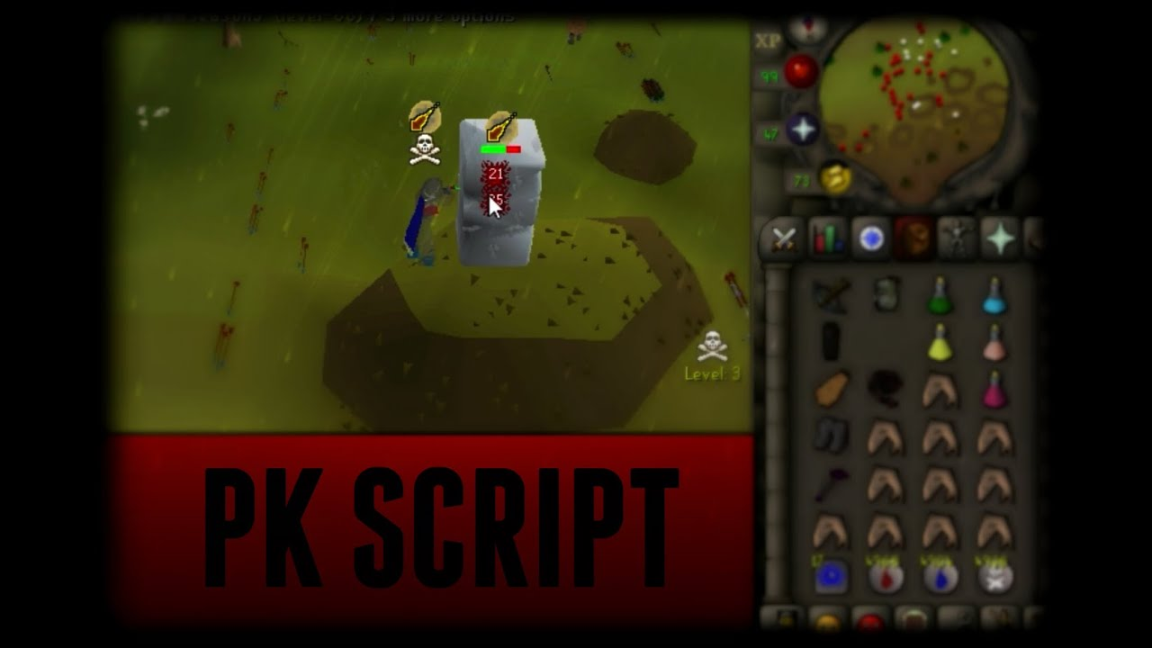 TriBridScript v1 0 First Runescape PK Script - YouTube