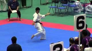型 35歳以上男子(16名) 準優勝者 予選型 http://kyokushin-shiga.com/?p...