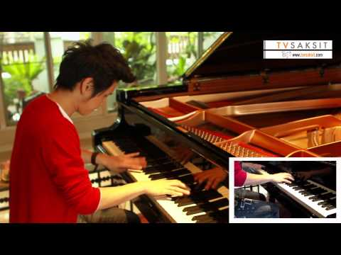 Silent Night Medley Instrumental  ToR+ Saksits Piano Improvision HD